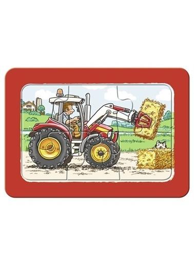 Ravensburger 3x6 Parça Puzzle Araçlar 065738 Renkli
